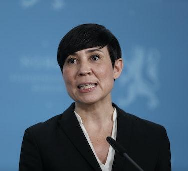 Utenriksminister Ine Eriksen Søreide