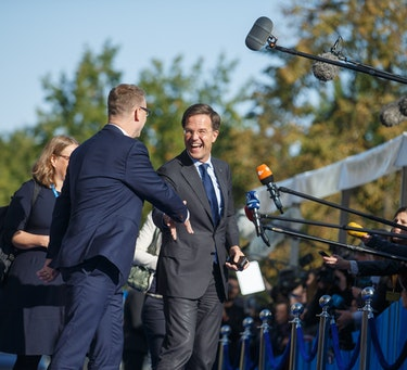 The People's Party for Freedom and Democracy (VVD), led by current Prime Minister Mark Rutte, is set to gain seats when compared to the last election in 2017.