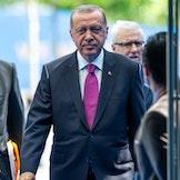 Tyrkias president, Recep Tayyip Erdoğan.