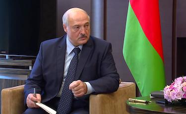 Hviterusslands president, Aleksandr Lukasjenko.