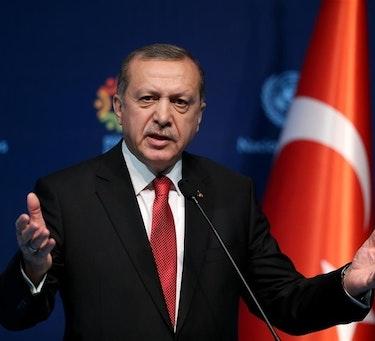 BEKYMRET: Tyrkias president Recep Tayyip Erdoğan ønsker oppmerksomhet rundt problemene i Syria.