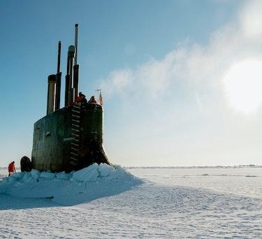 Ubåt i arktis