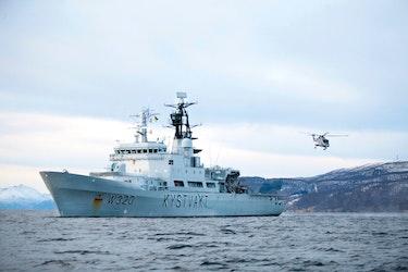 KV Nordkapp er stasjonert på Sortland og patruljerer i Barentshavet fra den russisken grensen til Jan Mayen.