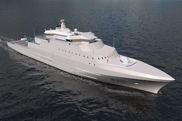 Vard Langsten, som bygger den nye Jan Mayen-klassen, har erfaring med å bygge isforsterkede skip for Forsvaret. I 2001 og 2016 utrustet de henholdsvis KV Svalbard og etterretningsskipet Marjata.