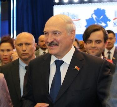 President Aljaksandr Lukasjenka, kjent som Europas siste diktator, har styrt Hviterussland med jernhånd i 26 år.