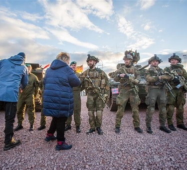 Norge stilte som vertsnasjon under Natos største øvelse på flere tiår – Trident Juncture 2018