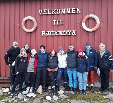 Gruppebilde fra Bjørnøya