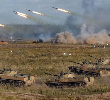 Det russiske forsvarsdepartementet på Facebook
