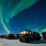Stemningsbilde fra vinterøvelsen Joint Viking 17 i Finnmark. Foto: Ole-Sverre Haugli/Forsvaret.