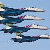 Russiske jagerfly
