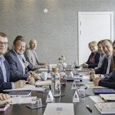 De nordiske statsministerne under det årlige, uformelle møtet i mai i år (Foto: Statsministerens kontor