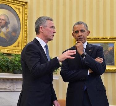 Stoltenberg og Obama