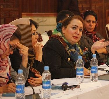 Diskusjon under Open Days on Women, Peace and Security i Kabul, Afghanistan
