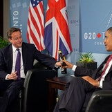 Cameron og Obama