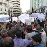 Protester mot prisøkninger i Libya